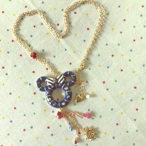 Betsey Johnson Disney Collab Minnie Necklace NWOT